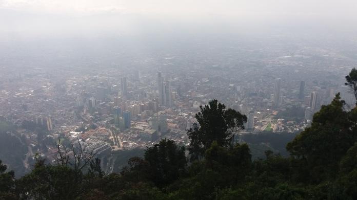 Bogotá from Monserrate