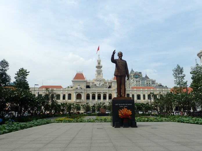 Ho Chi Minh statue (as seen in every city)